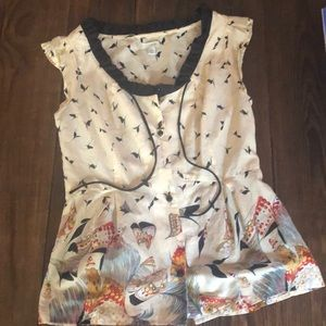 Anthropologie top by Odille